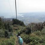 焼津一の高草山、自分の力で登ったよ!